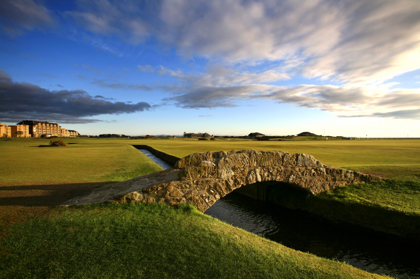 St. Andrews Old Course Swilcan Bridge