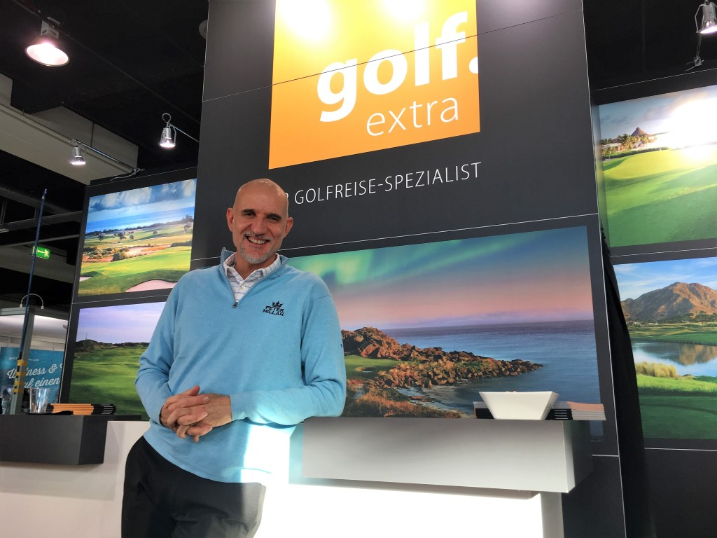golf.extra mit Markenbotschafter André Bossert