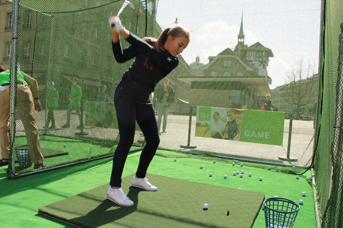 ASG Golf City Tour mit Rachel Rossel