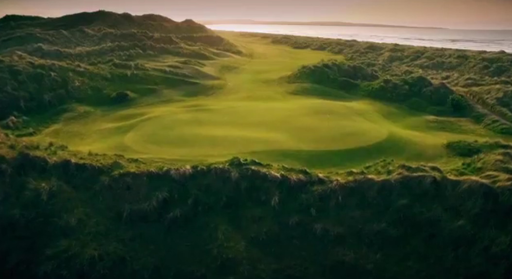 Irland Links Golf