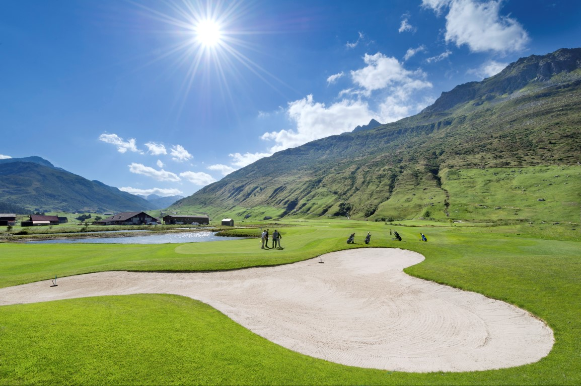 Andermatt Swiss Alps Golf Course