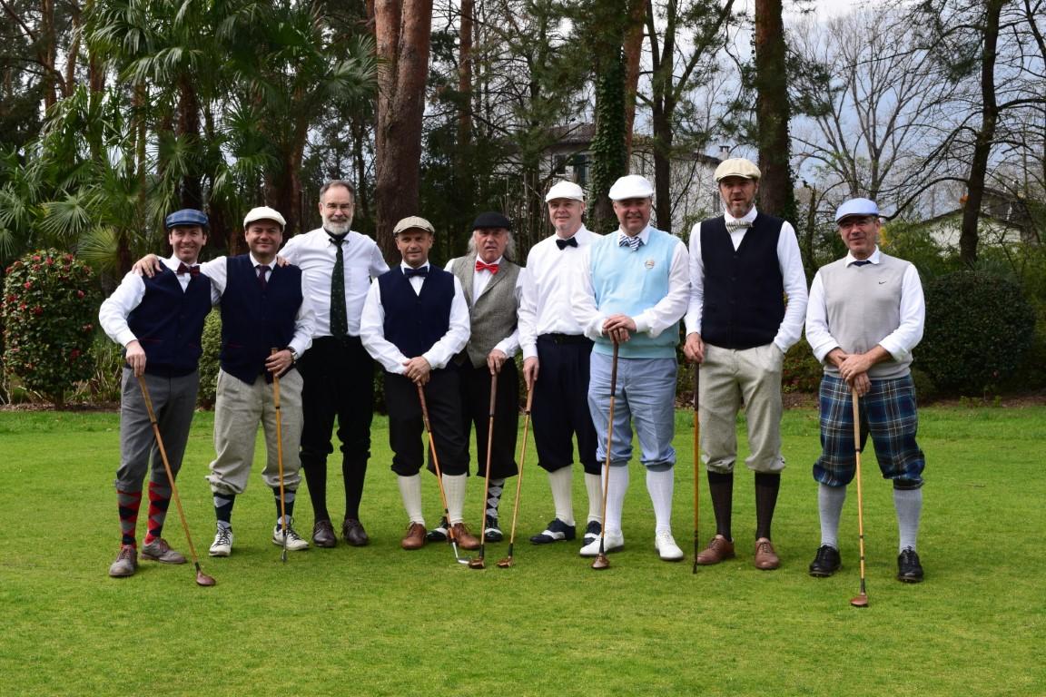 Hotel Belvedere Hickory Golf Trophy