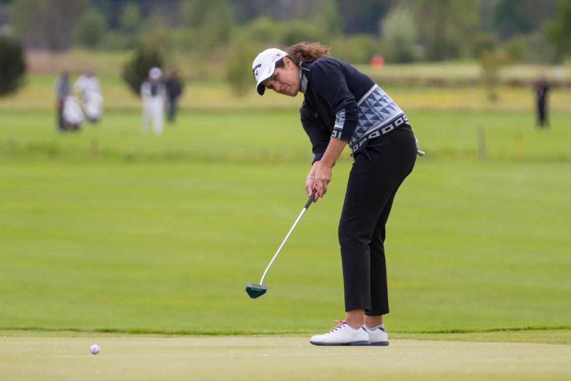 Caroline Rominger VP Bank Ladies Open