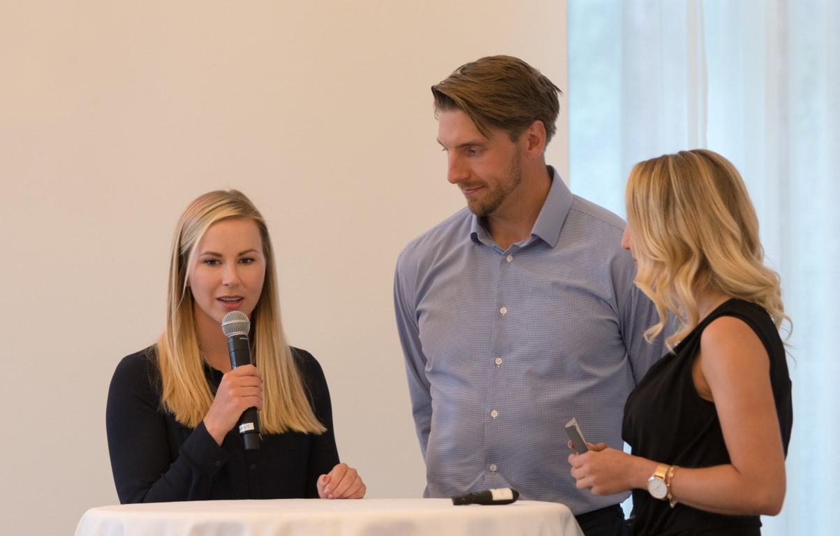 Linda Henriksson VP Bank Ladies Open ProAm